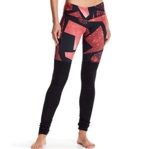 ALO | Goddess Leggings Galaxy Print  Yoga Ruched
